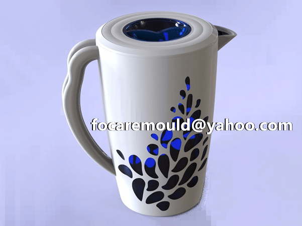 two color pitcher jug mold